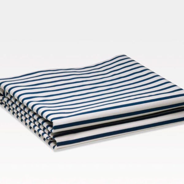 Sailor + Regatta navy duvet by unison