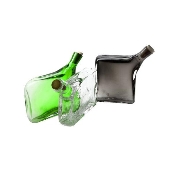 Hand-blown Glass Flasks by Esque Studio