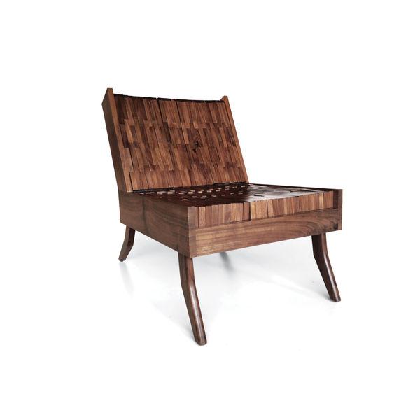 Block Chair by Sitskie Design Studio