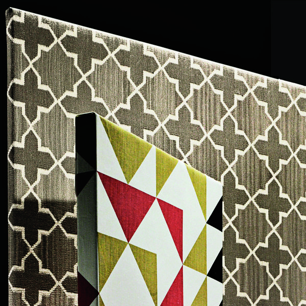 Westley fabric in platinum by Madeline Weinrib