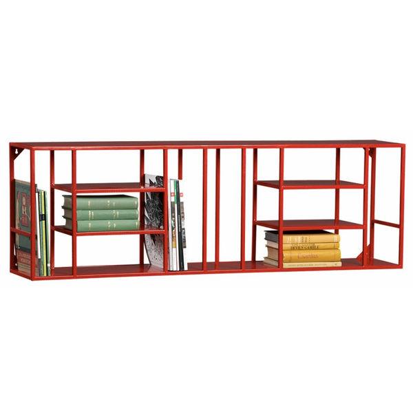 Modular book shelf by CB2.