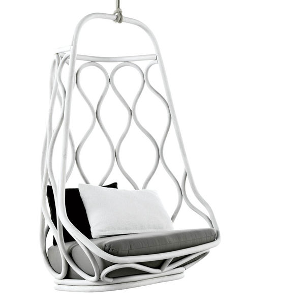 gray matter nautica hanging chair