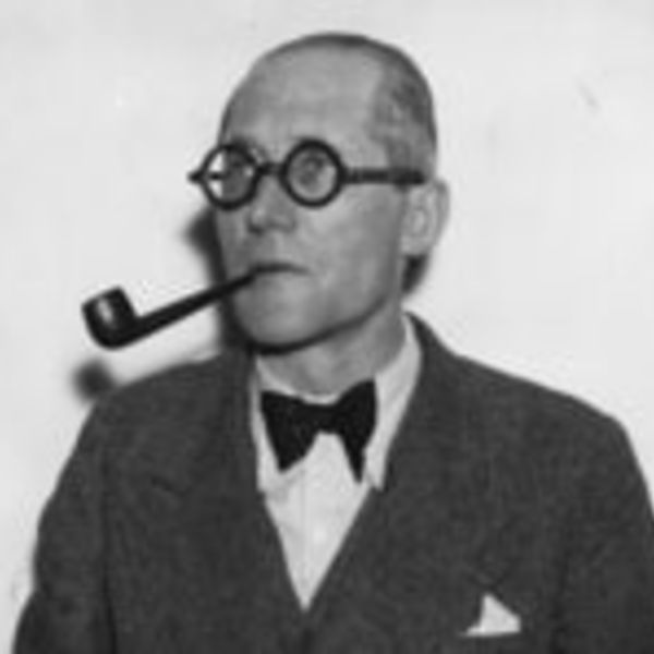 le corbusier portrait