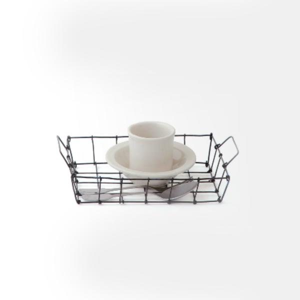 Fog Linen Desk Basket