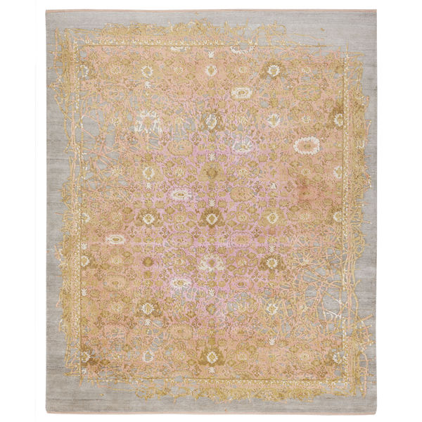 Bidjar Rug in Enjoy Copper Pink by Jan Kath
