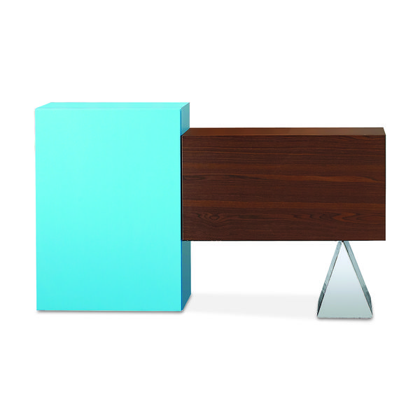 table, buffet, material combinations