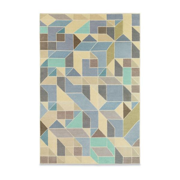 rug, geometric, looping