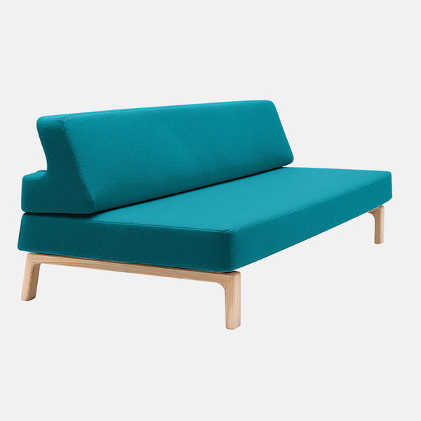 modern furniture products bright colors soft line lazy sofa