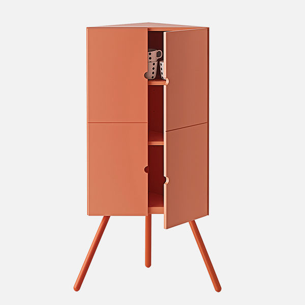 modern furniture design earth tones ikea PS 2014 corner cabinet