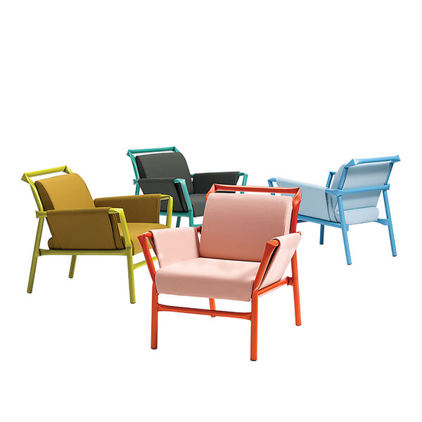 modern furniture design frame structure Bla Station superkink chair
