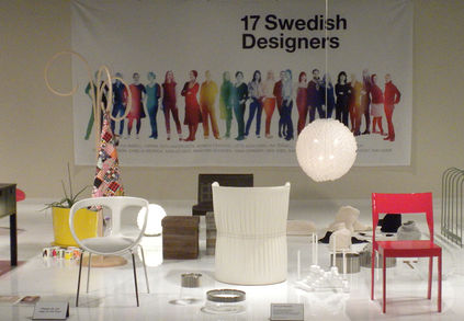 17 Swedish Designers exhibition