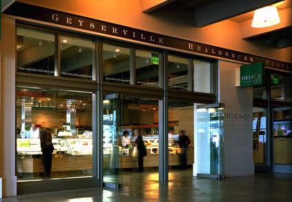 Delica restaurant facade in San Francisco Ferry Building