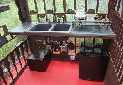 Zen Kitchen interior