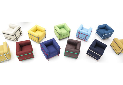 milan color Cassina LC2 co
