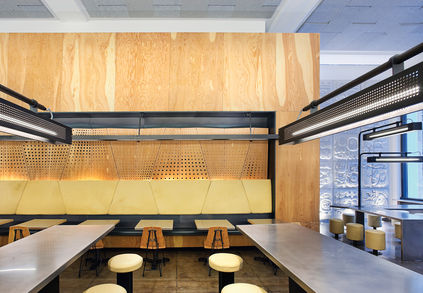 meal Chipotle restraunt design