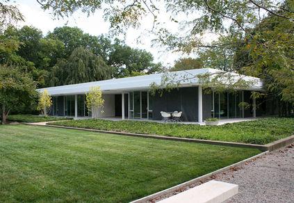 Miller House designed by Eero Saarinen