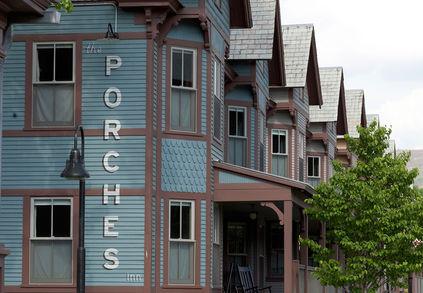 Porches Inn in North Adams, Massachusetts