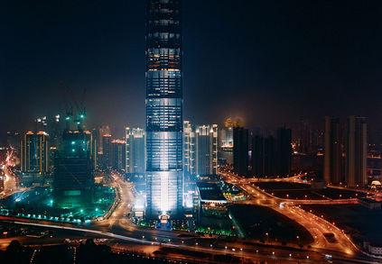 shanghai china jin mao tower