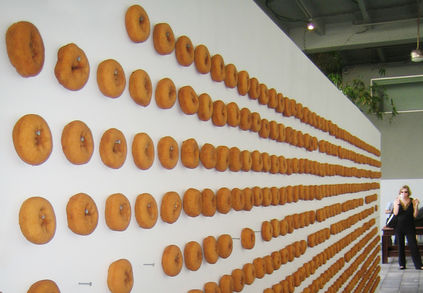 rubell donut wall detail