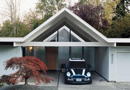 segerholt residence after exterior driveway
