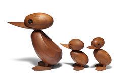 Wooden Danish duckling set