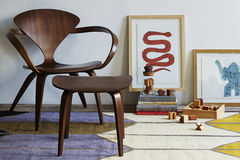 classic midcentury lounge chair