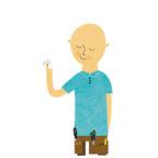 101 contractors illustration  finger