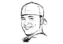 Gardner Chris Portrait Illustrated