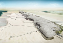 """Sand Dune Clouds""   Designed by Town Planning Design and Architecture: Boguslaw F. Witkowski, Maciej T. Starewicz, Elmar Hess"