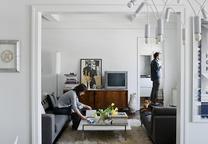 abbink residence living room portrait