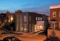 brick weave house chicago illinois exterior