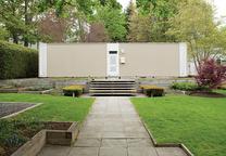 isaacson residence exterior facade