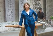 Philanthropist and Workshop Residence founder Ann Hatch
