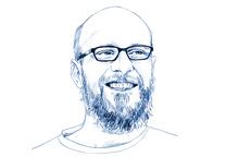 lambert steve portrait illustration