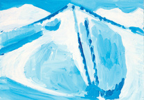 art collecting yutaka sone perfect island ski lift 1999