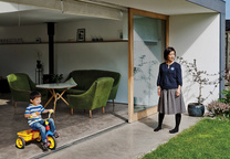 Modern home in Scotland with Japanese and Scottish influences
