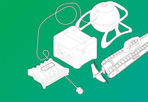 smart home utility products illustration