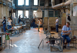 bolle venini interior workshop multiple work areas