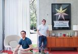 blauvelt winter residence living room portrait