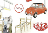 Design icons in Italy