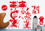 a plus r flora and fauna wall vinyl