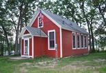 wisconsin schoolhouse outside