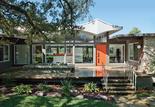 upgraded midcentury austin home exterior