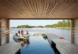 worple house boat dock view outside