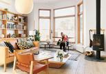 mjolk house renovation interior living room