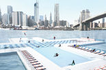 Plus Pool design for a floating public swimming pool by PlayLab and Family New York architects