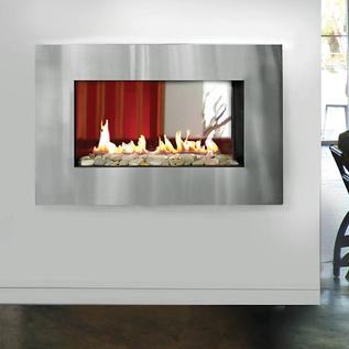 fireplace, wall, exterior