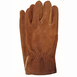 Brown sullivan leather gloves
