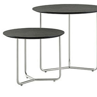 Side table with wire base