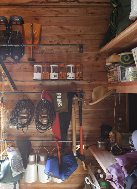 keep your outdoor equipment arranged